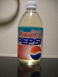 Crystal Pepsi: Image Gallery (Sorted by Oldest) (List View) | Know
