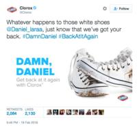 1afcf4029d ... Clorox 2  Follow Clorox Whatever happens to those white shoes   Daniel laraa