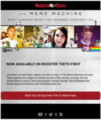 rooster teeth image gallery know your meme