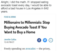 777 avocado toast know your meme