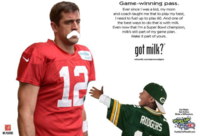 Aaron Rodgers Mustache Image Gallery List View Know Your Meme