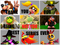 Banjo-Kazooie (not Nuts and Bolts) | Not You / Tú No | Know