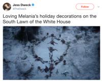 Melania Trump S Christmas Decorations Know Your Meme