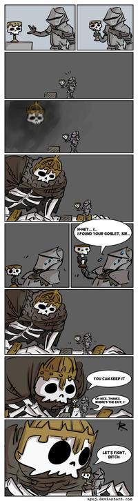 Concerned Darkwraith Dark Souls Know Your Meme