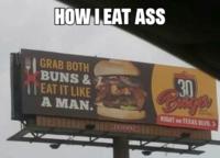 Eating Bbw Ass