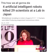 Linda Moulton Howe S Robot Uprising Conspiracy Theory Image Gallery