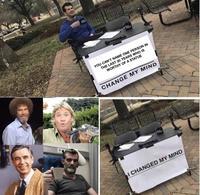Steven Crowder S Change My Mind Campus Sign Know Your Meme Wobbuffet prove me wrong meme format. change my mind campus