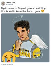 Chale Cameron Boyce Memes Facebook