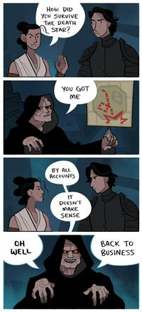 Palpatine S New Groove By Rj Pierce Star Wars The Rise Of Skywalker Know Your Meme