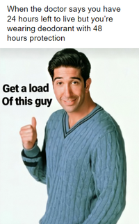 Get a load of this guy ross