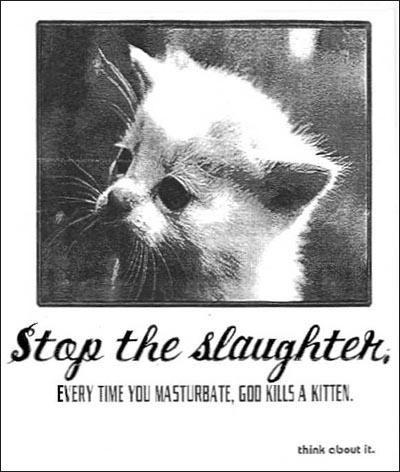 Have removed everytime god kill kitten masturbate picture