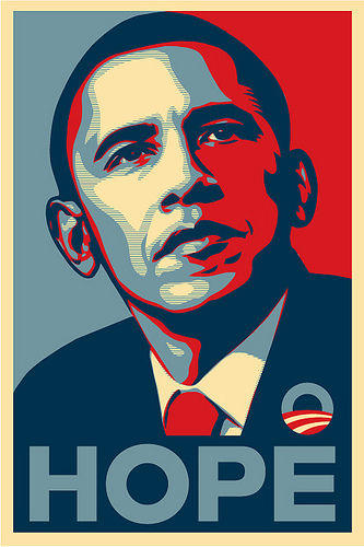 obama hope posters know your meme
