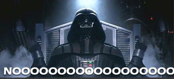 Extended no | Darth Vader's Noooooooooooo! | Know Your Meme
