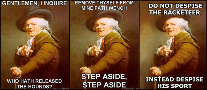 Joseph Ducreux Archaic Rap Know Your Meme
