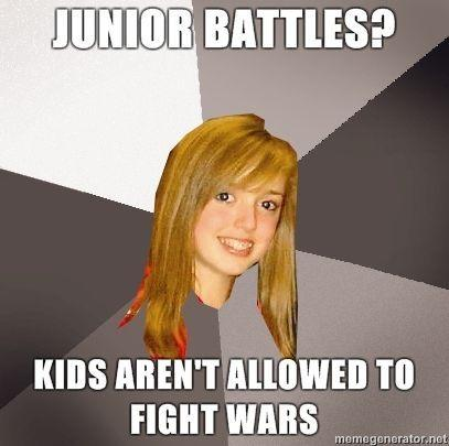KIDS ARENT ALLOWED TO FIGHT WARS Memegenerator