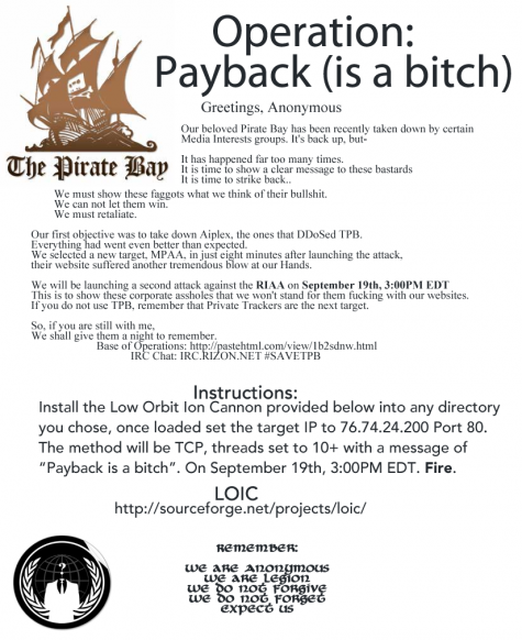 Operation Payback: