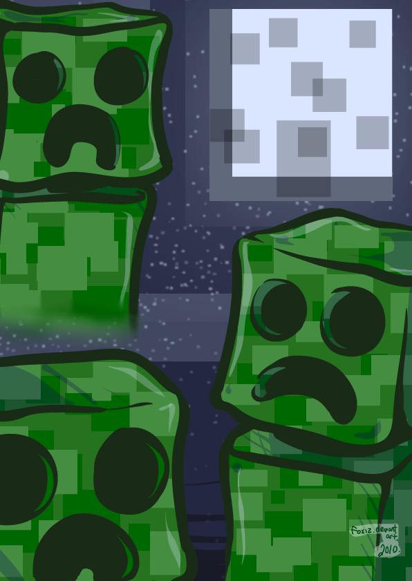 minecraft creeper know your meme