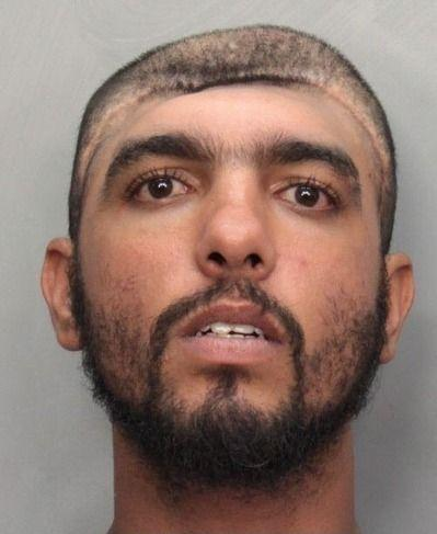 Half head mugshot