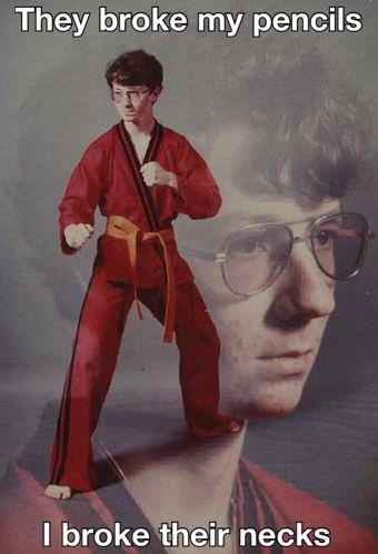 karate kyle know your meme