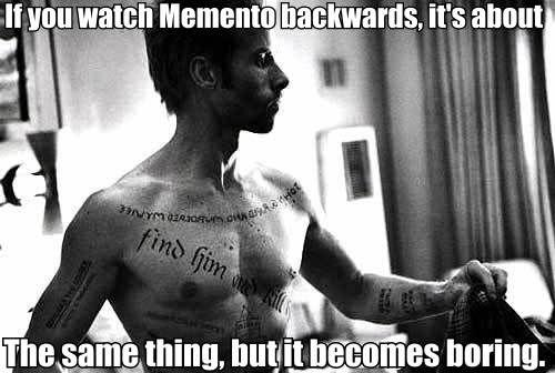 If You Watch X Backwards, It's About Y | Know Your Meme