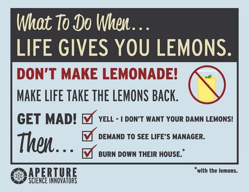 Cave Johnson / Combustible Lemons   Know Your Meme