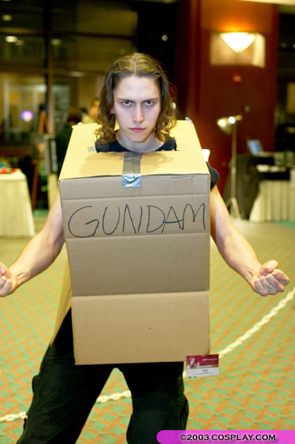 Cardboard Box Gundam Know Your Meme
