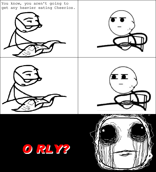 awkward image 159542] cereal guy know your meme
