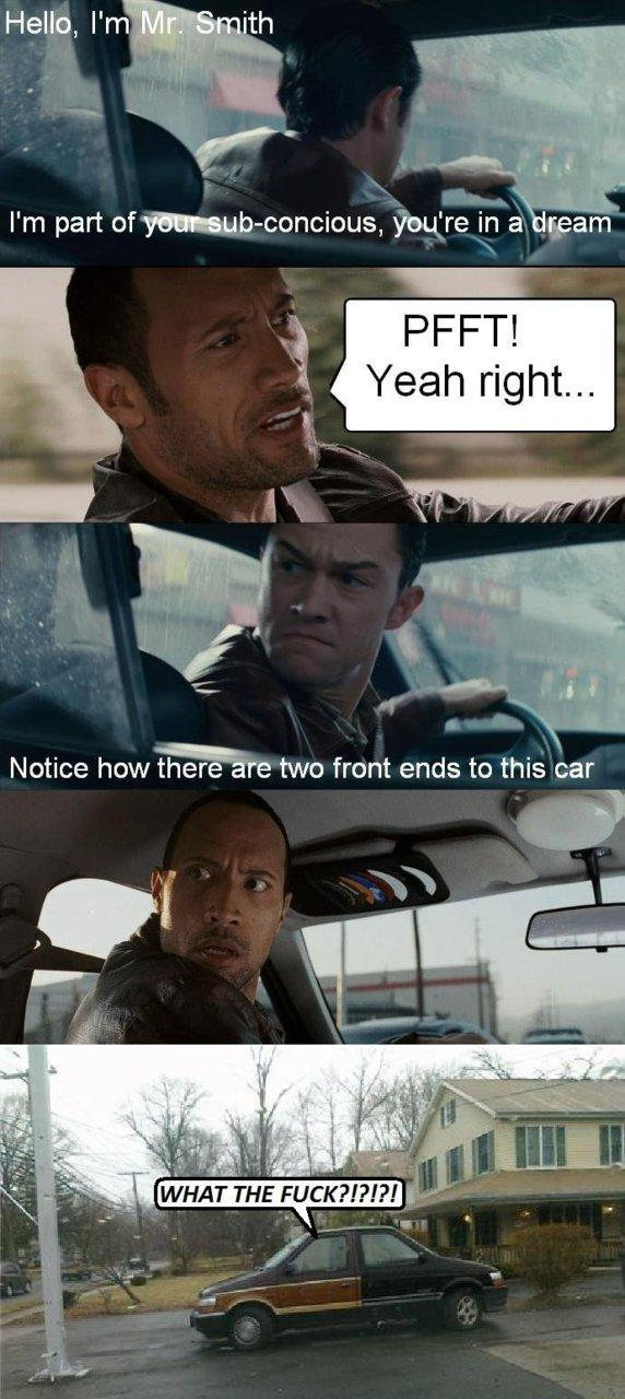 The Rock Driving Know Your Meme