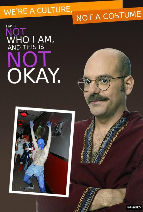 WEu0027RE A CULTURE NOT A COSTUME This is NOT WHO I AM AND  sc 1 st  Know Your Meme & Image - 192032] | Weu0027re a Culture Not a Costume | Know Your Meme