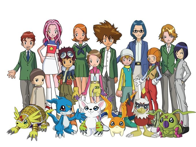 digimon matt e sora