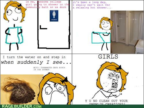 Hairy college girl dorm excellent idea
