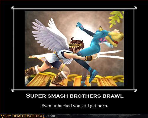 smash bros brawl porn