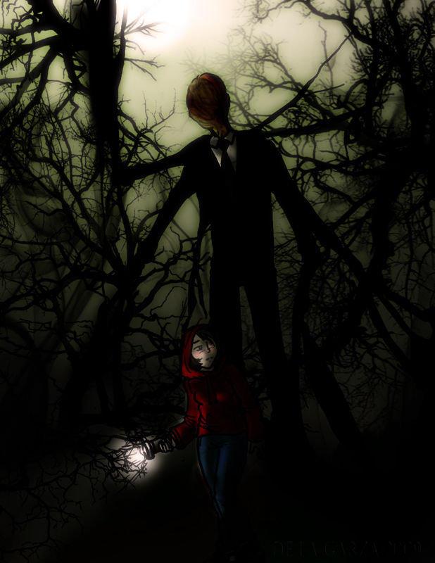 Arbre slenderman rouge nature plante ligneuse obscurité plante ciel clair émotion branche phénomène