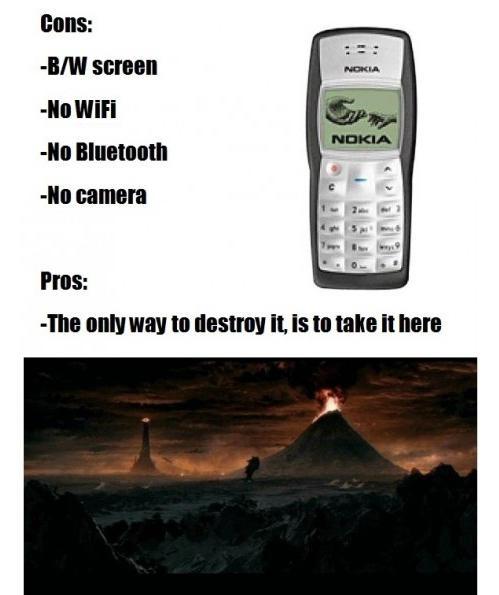 Indestructible Nokia 3310 | Know Your Meme