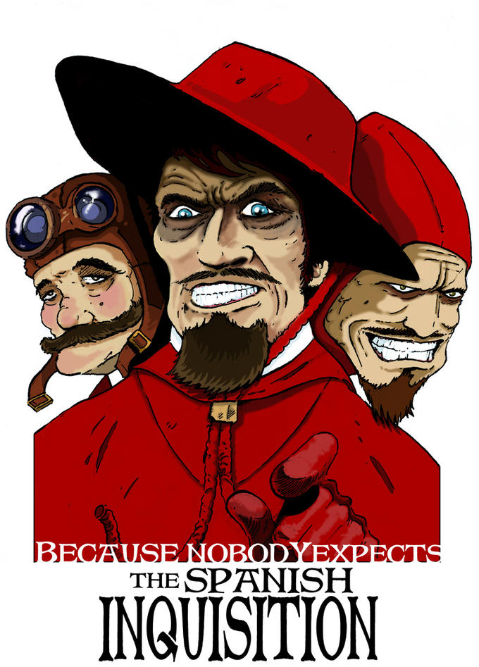 Nobody Expects The Spanish Inquisition Know Your Meme