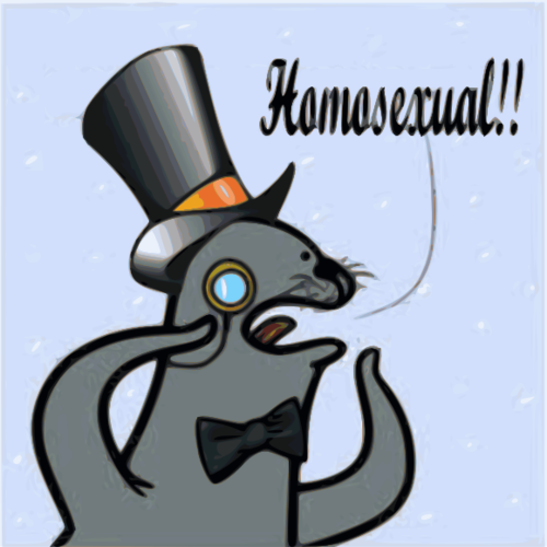 Homophobic Seal Know Your Meme