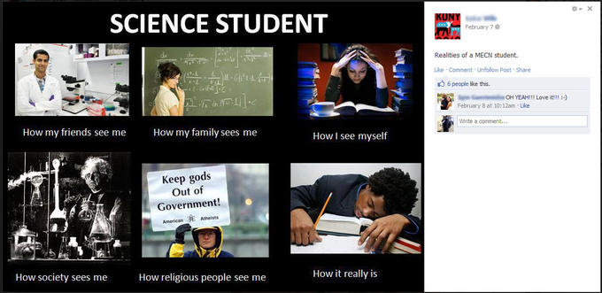 What people think i do what i really do know your meme science student february 7 realities of a mecn student likce comment unfolloy post maxwellsz