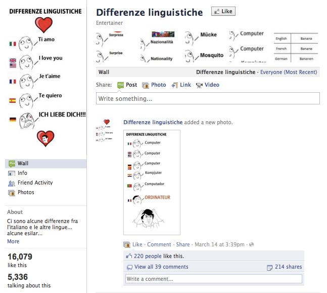 bbe differenze linguistiche know your meme