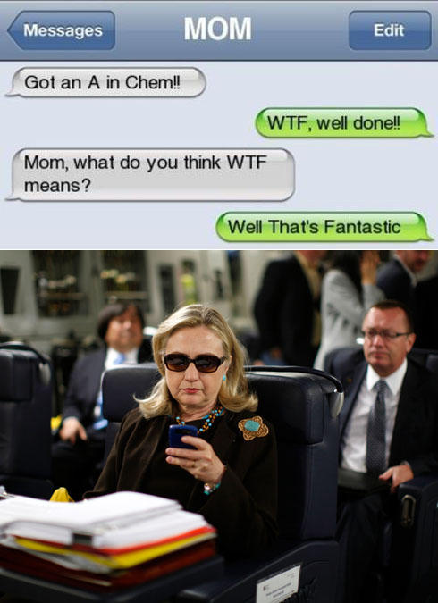 image 282168 texts from hillary know your meme