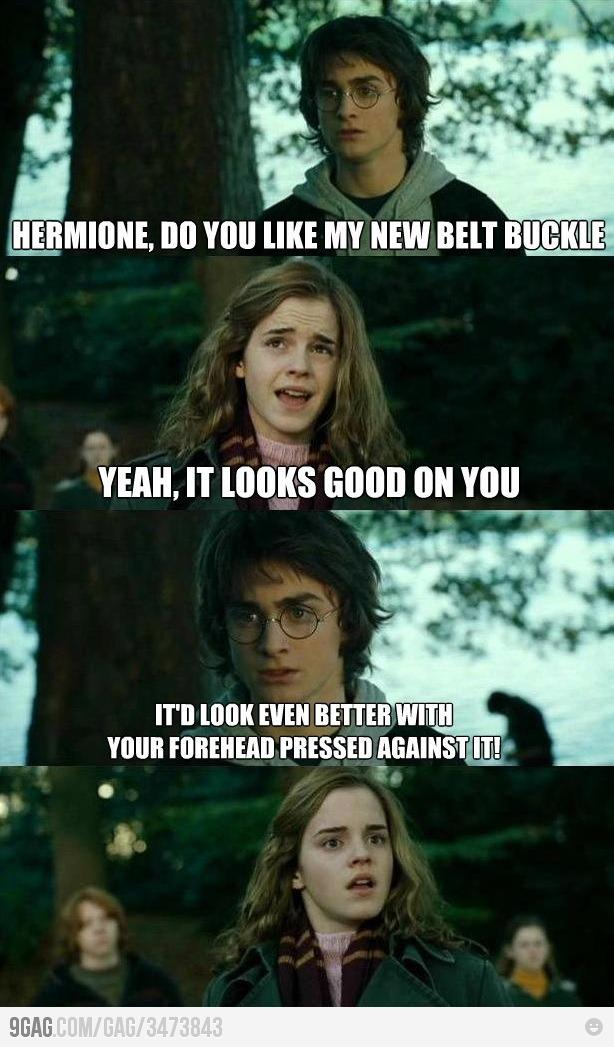 harry and hermione have sex