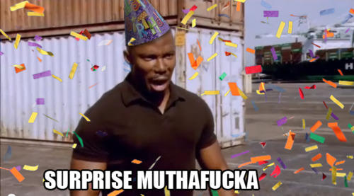 Happy Birthday James Doakes Surprise Motherfucker Know Your Meme