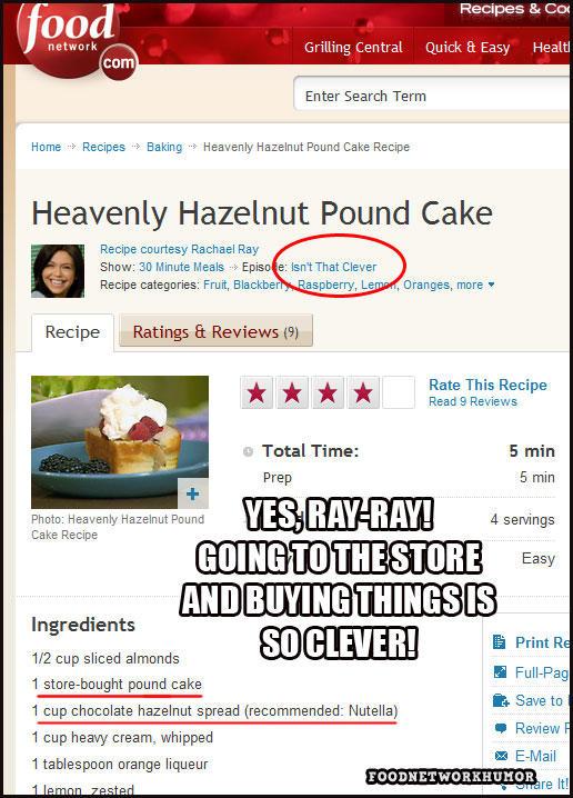 hazelnut cake food network recipe reviews know your meme