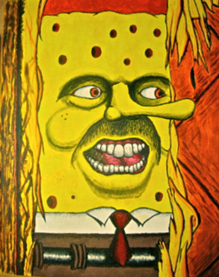 spongebob meep meme