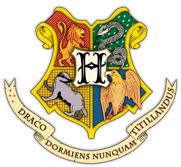 RACO IENS NUNC Harry Potter And The Philosophers Stone Yellow Font Product Clip Art