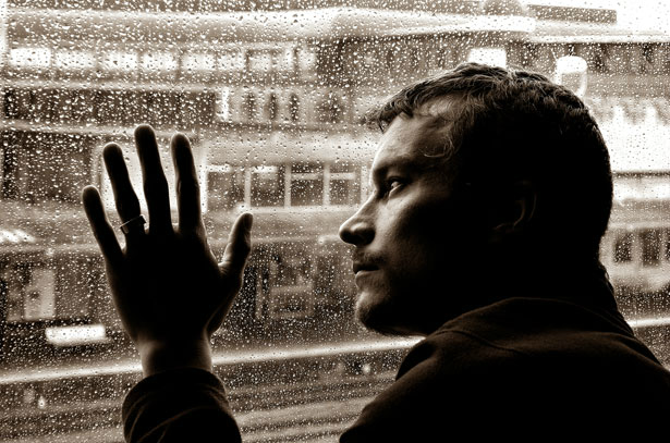 When A Sad Song Comes On In The Car And You Look Out The Window