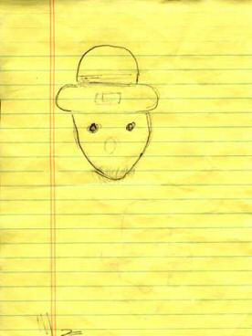 Think, that amateur leprechaun sketch