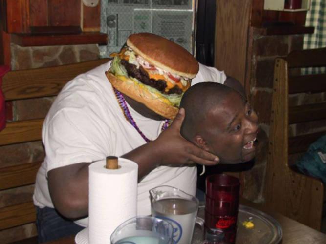 Hamburger Fast food fast food food cuisine