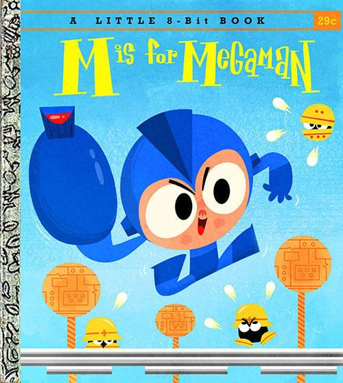 m is for megaman children s book mega man rockman know your meme