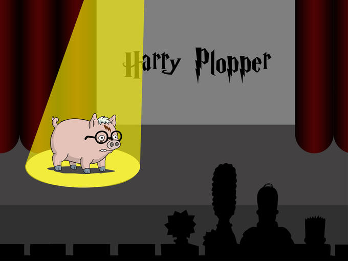 Spider Pig Harry Plopper Know Your Meme