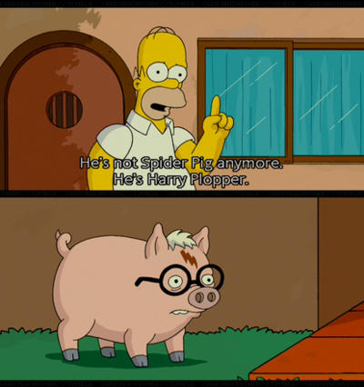 Image 379394 Spider Pig Harry Plopper Know Your Meme